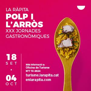 XXX Jornades Gastronòmiques del Polp i l'Arròs