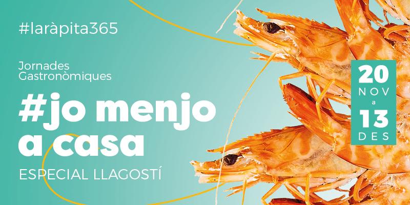Jornades Gastronòmiques #Jomenjoacasa especial llagostí